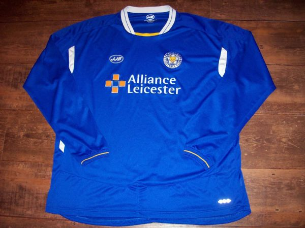 2005 2006 Leicester City Home L/s Fooiball Shirt Adults XXL